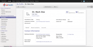 Physicians Login