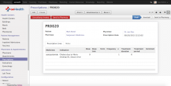 Odoo 8 Prescriptions